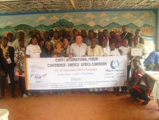 GREAT SUCCESS OF THE CONFERENCE  CIOFF® AFRICA IN FOUMBAN - CAMEROON   FROM 25th TO 27th SEPTEMBER 2015