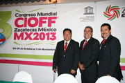 43rd CIOFF® World Congress in Zacatecas, Mexico, October 26 – November 2, 2013